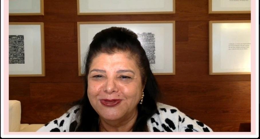 A presidente do conselho do Magazine Luiza, Luiza Trajano