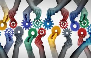 Equipe diversa e integrada para o sucesso